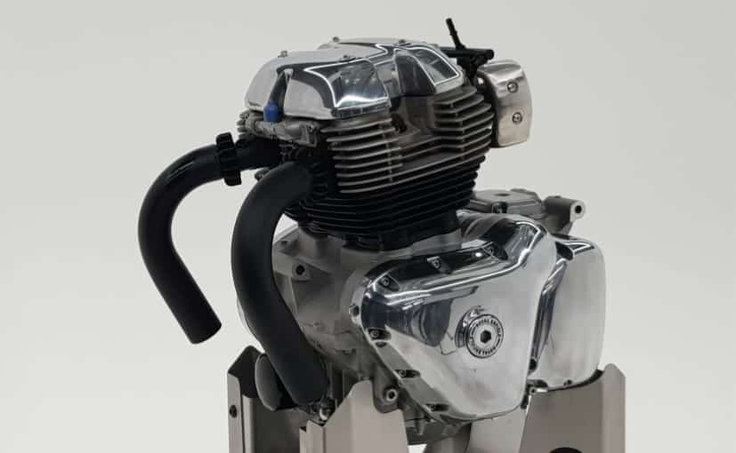 Royal Enfield Parallel Twin Engine