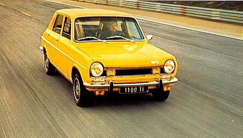 The grandad of hot hatches: the Simca 1100TI