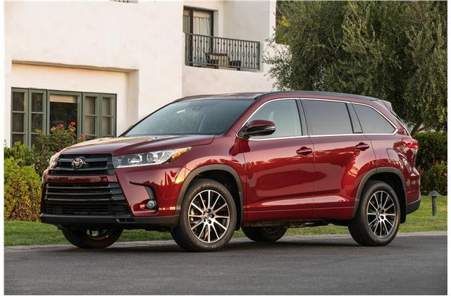 The Toyota Highlander is an 8 seater SUV.