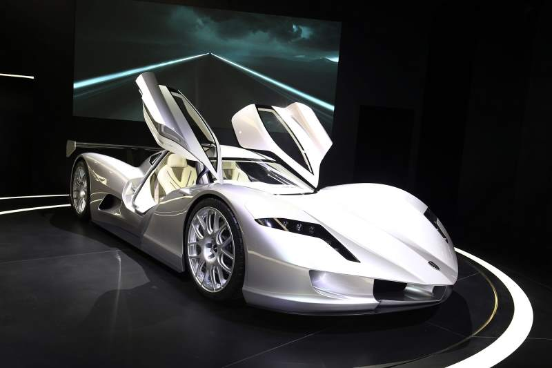Yes, It Is Electric, It Is A Supercar, And It Is Super Light (under 1,900  Lbs). Itu0027s Also Super Low At A Mere 39 Inches Tall. Developed And Produced  By ...