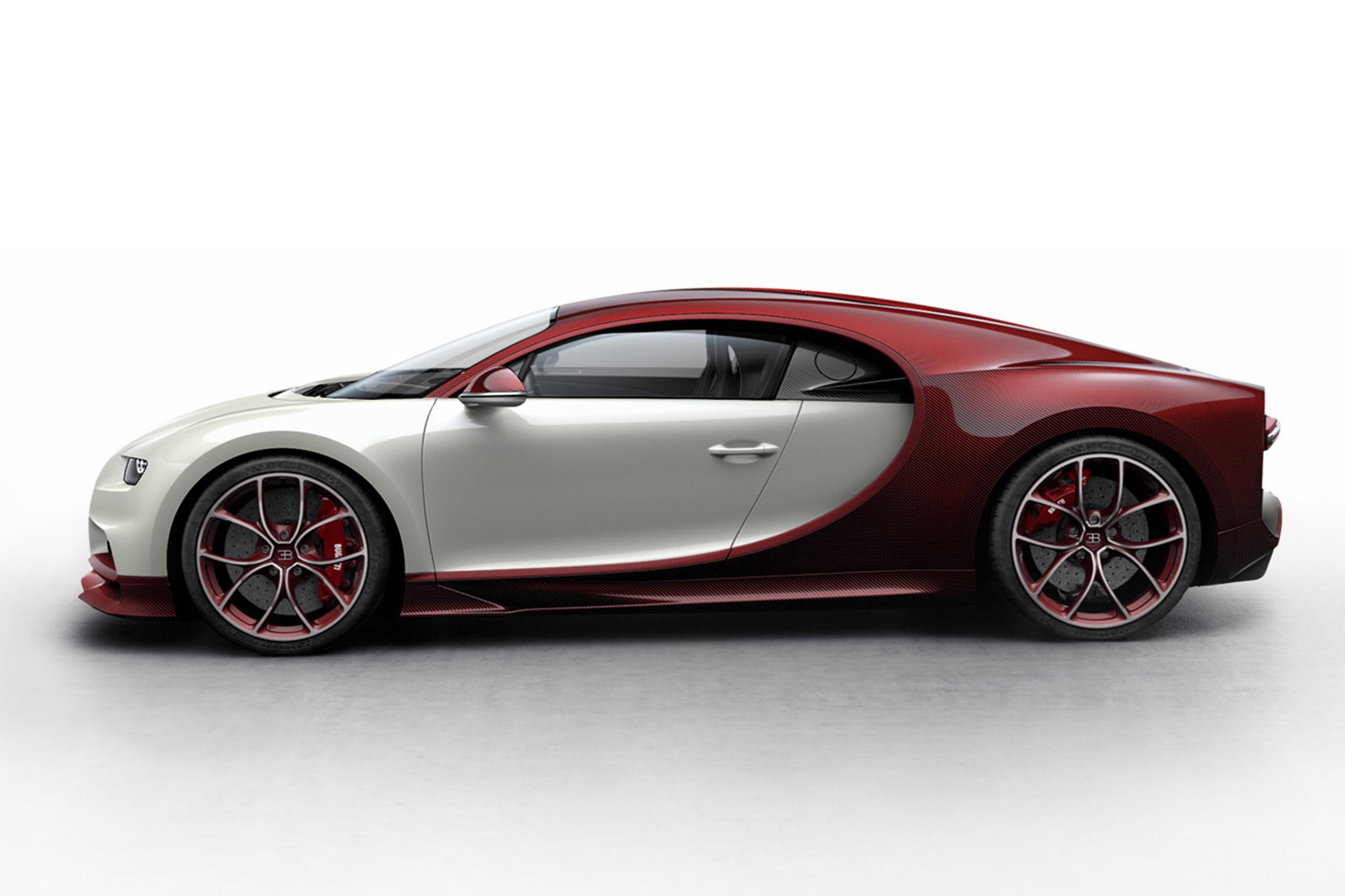 Even two-tone, the Bugatti Chhiron rocks.
