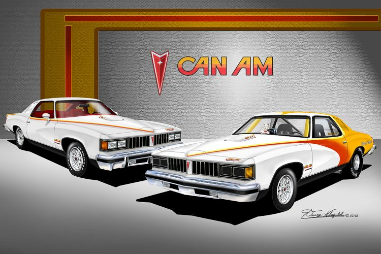 1977 Can Am Poster