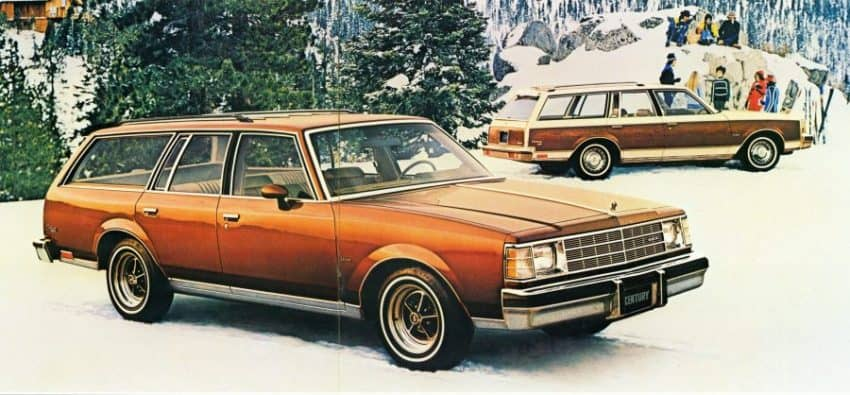 Old Buick Models - 1978-1981 Century Sport Wagon
