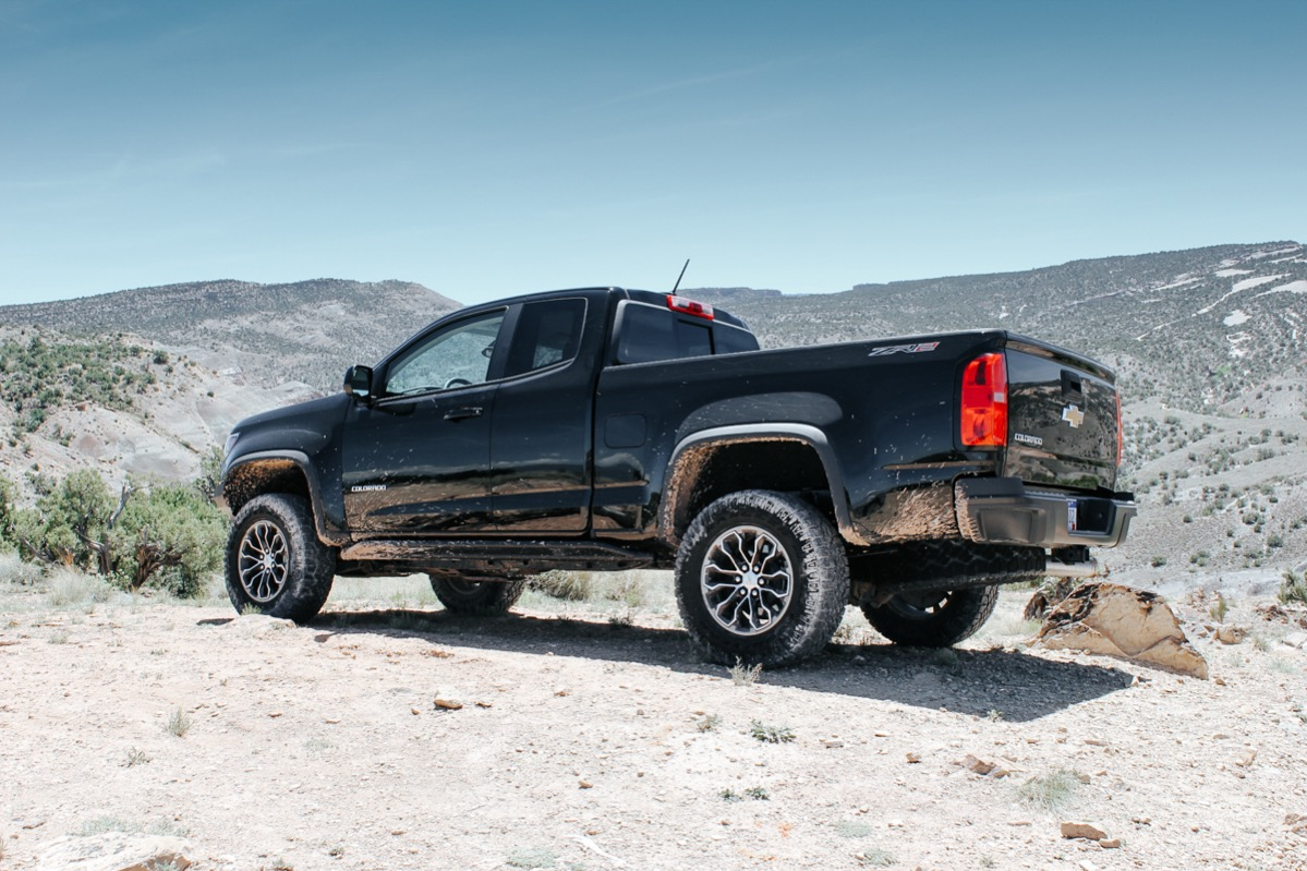 Lists of little trucks must include the Chevrolet Colorado