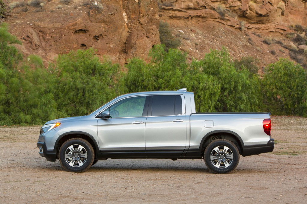 The top little trucks include the Honda Ridgeline
