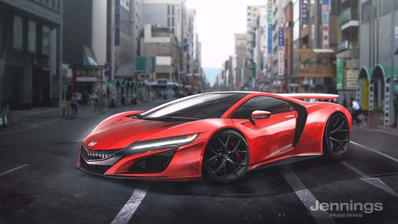 Honda supercar