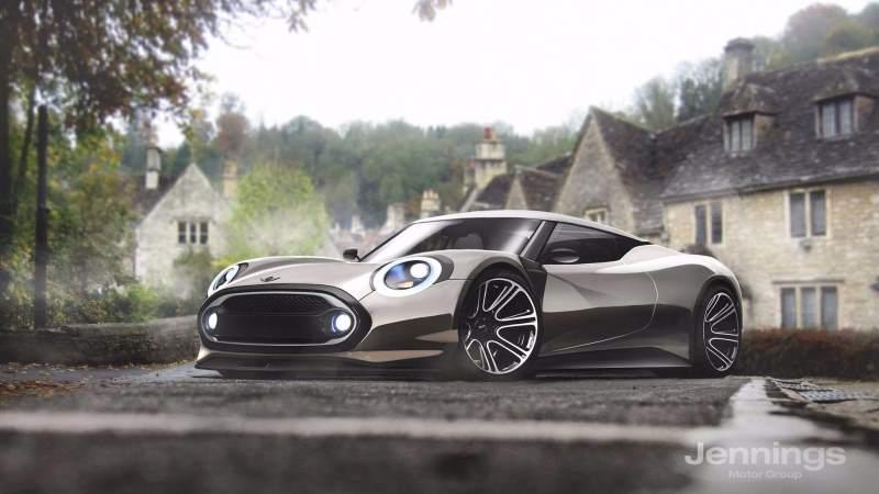 Mini supercar