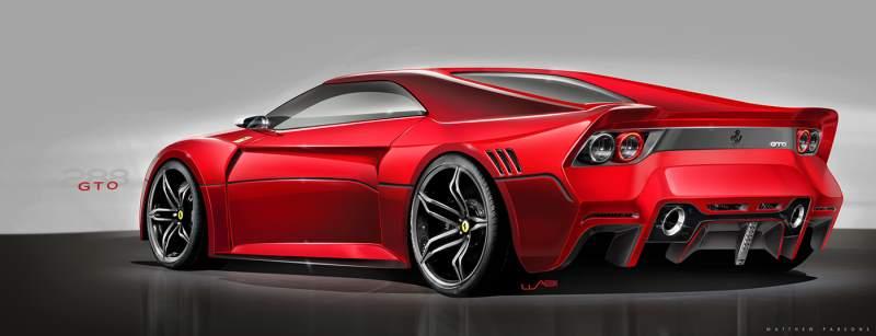 Ferrari gto concept