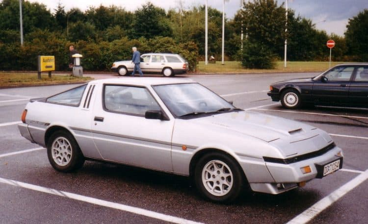 Plymouth Conquest aka Mitsubishi Starion