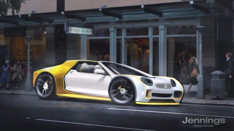smart supercar