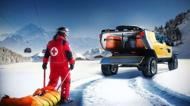 Surgo Mountain Rescue Concept