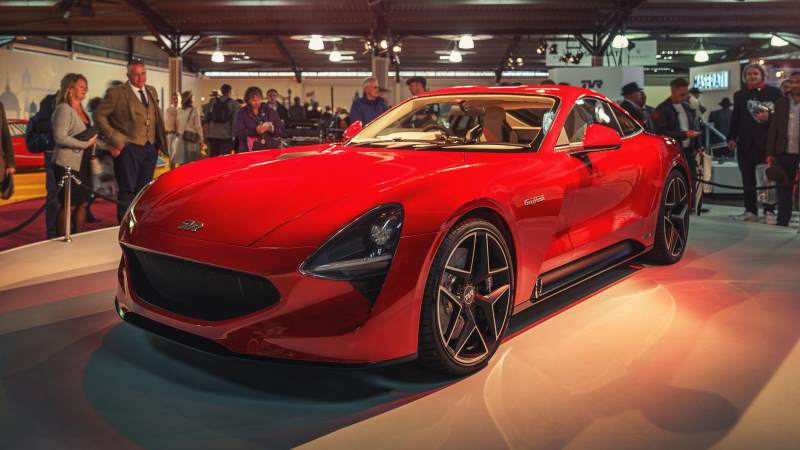 Frenetic TVR Griffith Is On With A Muscle Car Engine And Supercar Stature