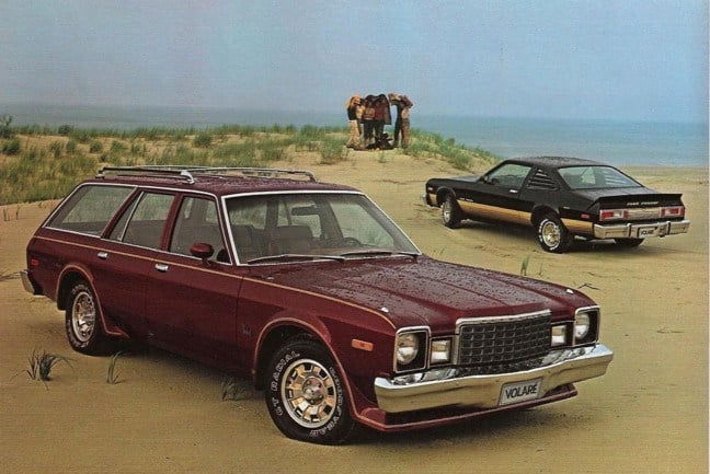 Plymouth Classic Cars - Volare Wagon