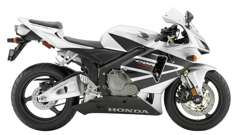 02. 05 Honda CBR600RR - 600cc Motorcycle