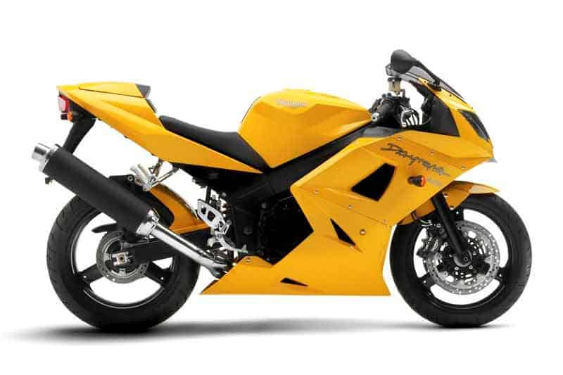 05. Triumph Daytona 650 - 600cc Motorcycle