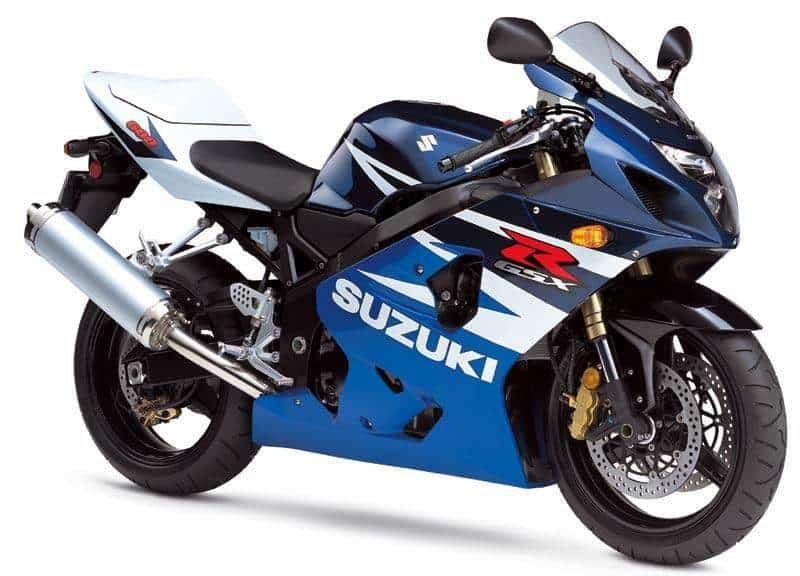 09. Suzuki GSX-R600 Motorcycle