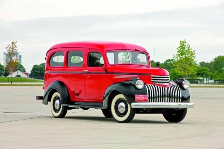 1935 – Present Chevrolet Suburban