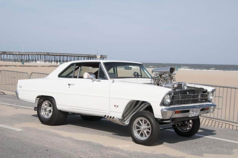 Period-Perfect 920-HP 1967 Chevy Nova II Gasser To Blow Your Mind