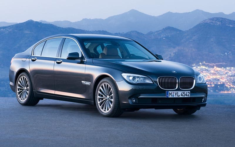 2008 BMW 7 Series Front 3/4 - Best BMW Model to buy used?