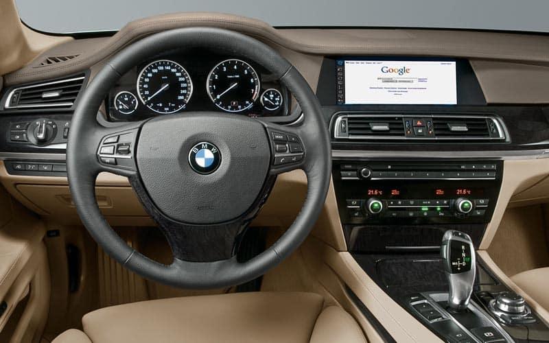 2008 BMW 7 Series Interior