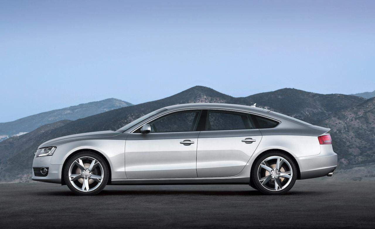 Our list of cheap luxury cars includes the 2010 Audi A5