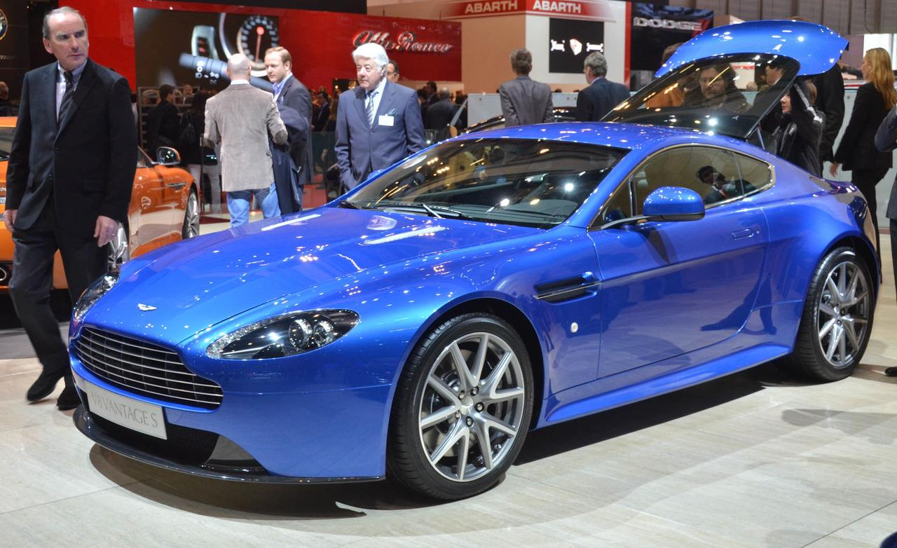 Our list of exotic cars includes the Aston Martin V8 Vantage S