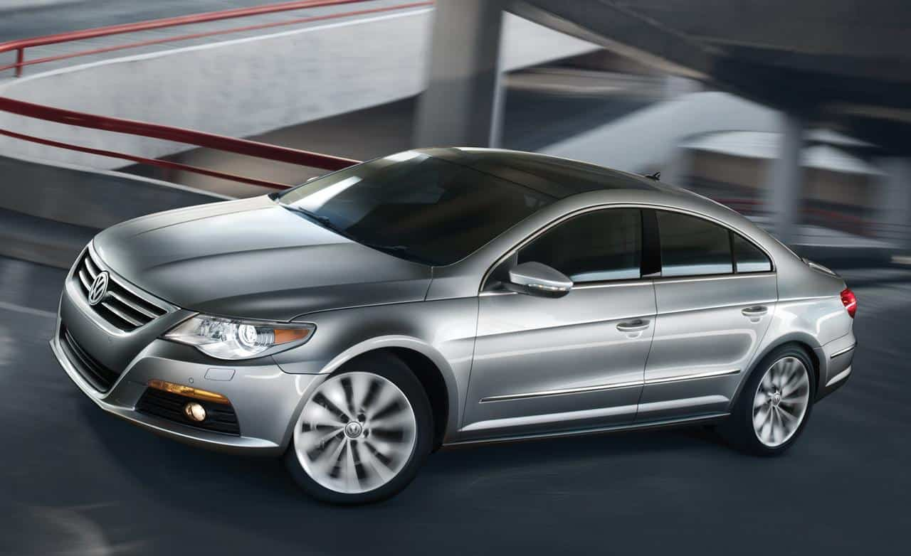 Our list of cheap luxury cars includes the 2012 Volkswagen CC