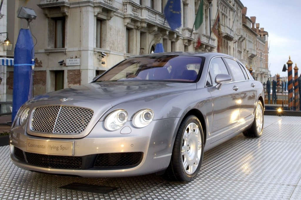 Our list of exotic cars includes the Bentley Continental Flying Spur
