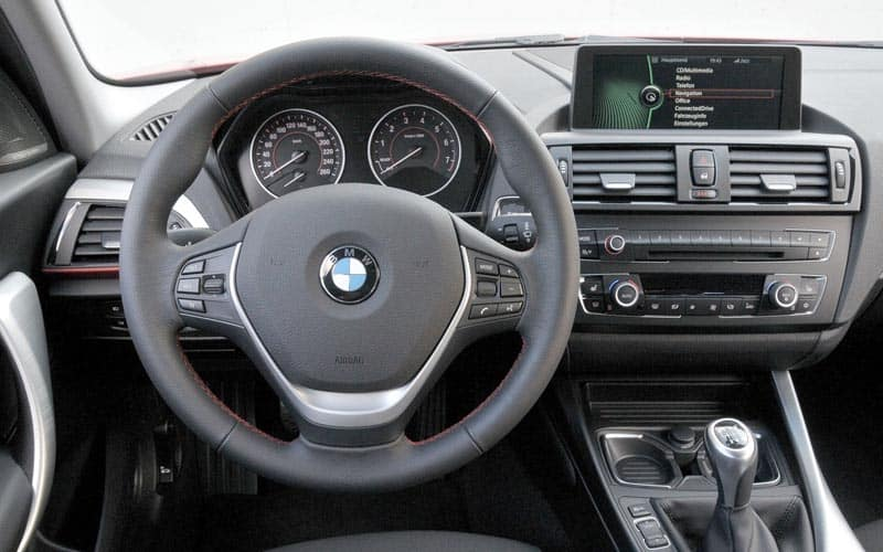 2013 BMW 1 Series Interior