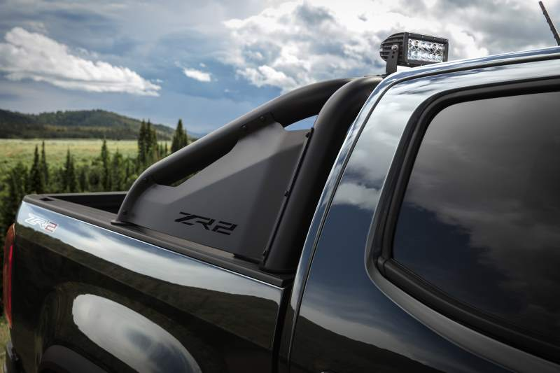 2018 Chevrolet Colorado ZR2 Midnight Edition Bed Rails