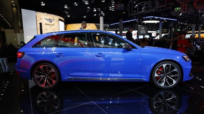 2018 Audi RS4 Avant Profile