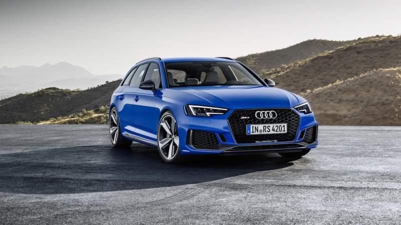 2018 Audi RS4 Avant Front