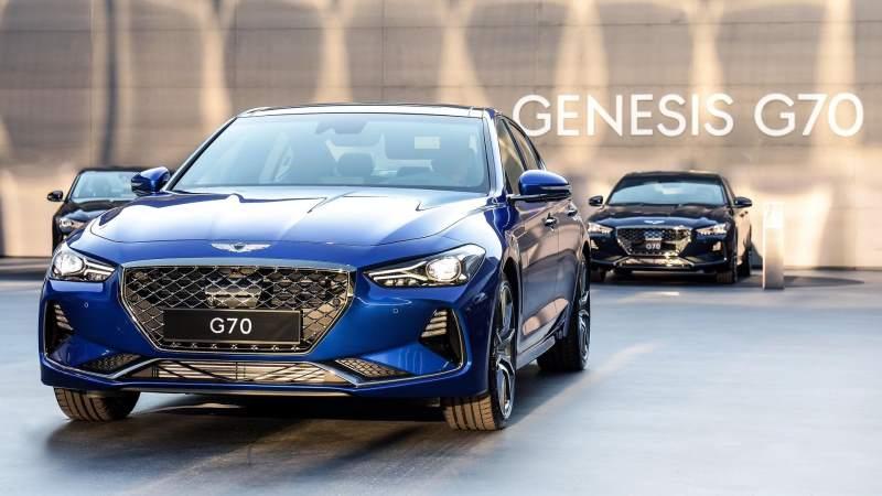2018 genesis g70 front multiple