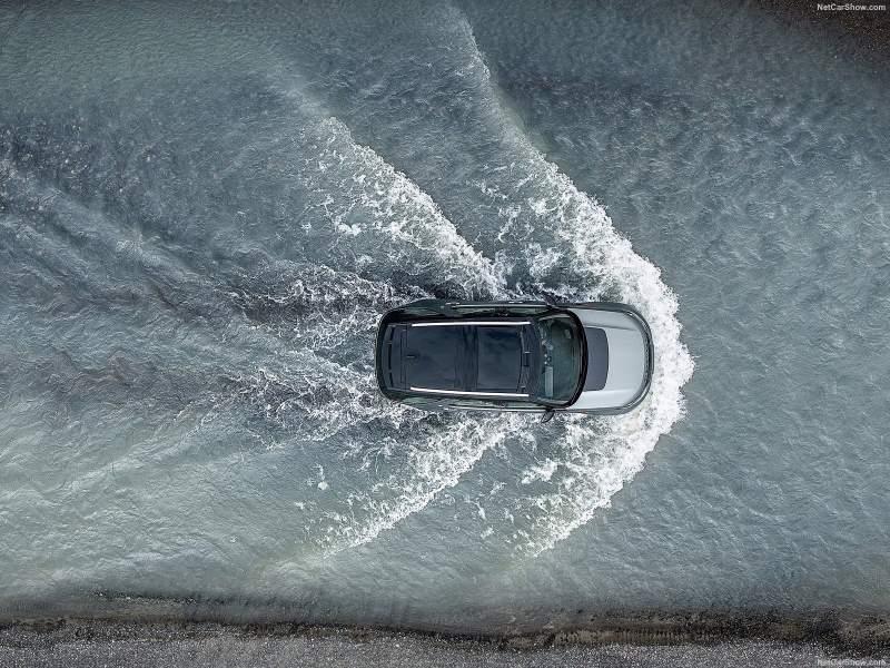 Land Rover discovery SVX Aerial