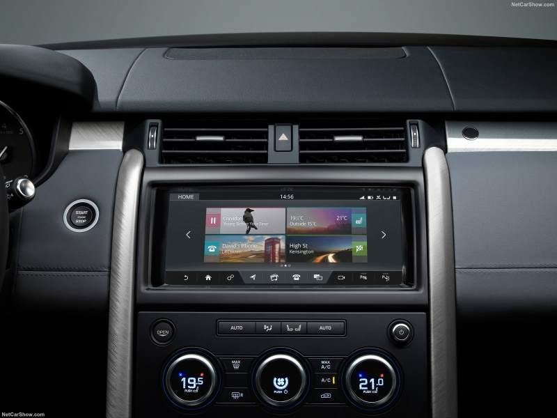 Land Rover discovery SVX Dash