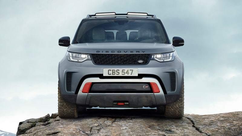 Land Rover discovery SVX Facade