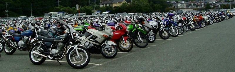 Motorcyle Parking Lot