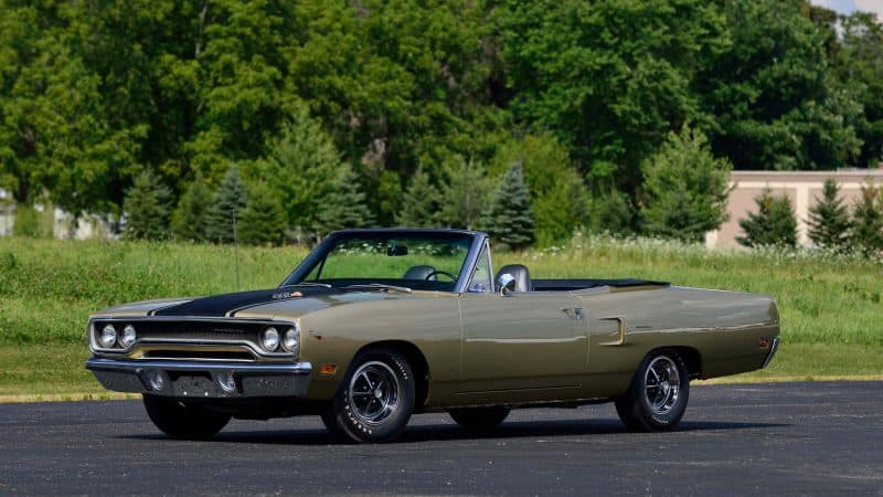 Plymouth Roadrunner Convertible
