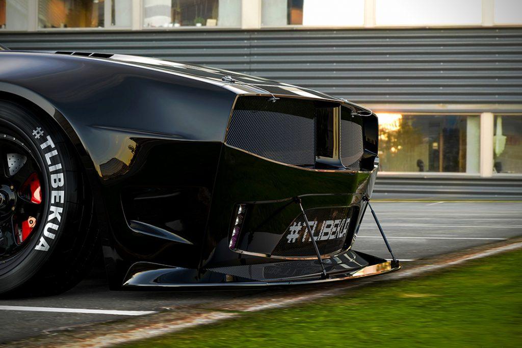 Pontiac Firebird TT Concept Lip Spoiler