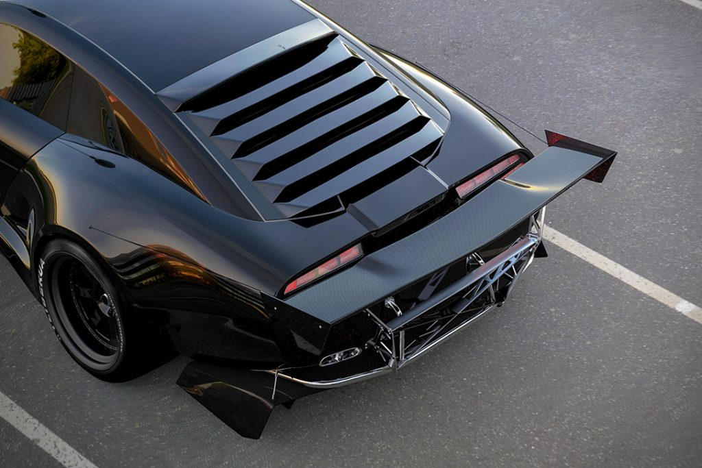 Pontiac Firebird TT Concept Rear Wing