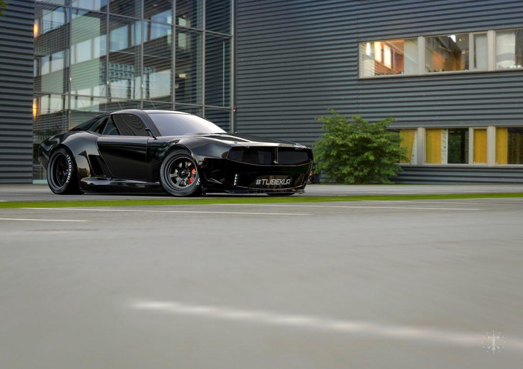 Pontiac Firebird TT Concept Front 3/4 Pose