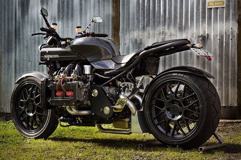 Turbocharged Subaru Motorcycle 4