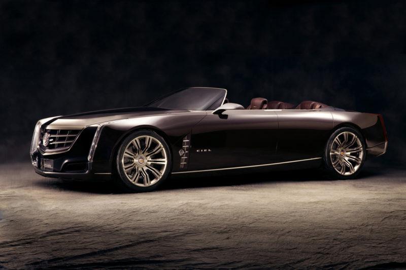 The Cadillac Ciel concept car would be a great Cadillac convertible.