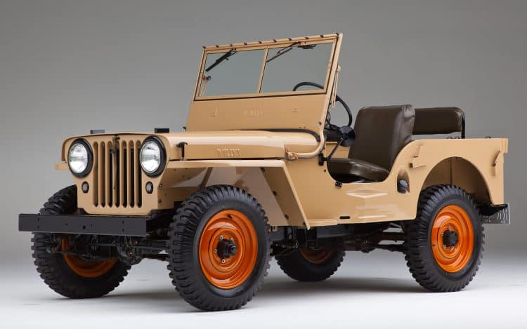 Willys-Overland CJ-2A