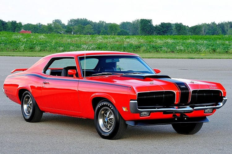 1969-1970 Mercury Cougar Eliminator