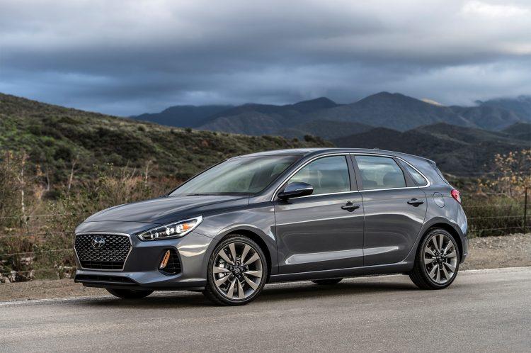 Compact Cars 2018 - Hyundai Elantra Hatchback Front 3/4