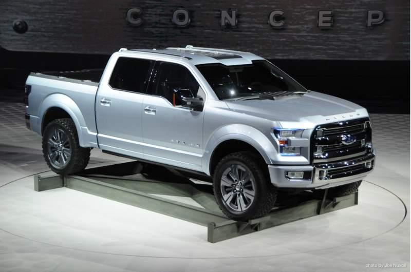 Ford Atlas Concept Hybrid