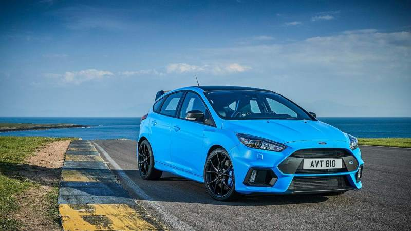 Ford Focus RS Scenic Front End