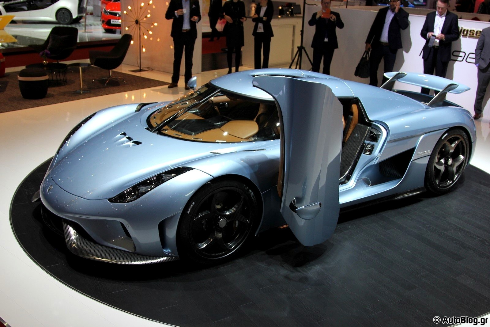 Our list of exotic cars includes the Koenigsegg regera