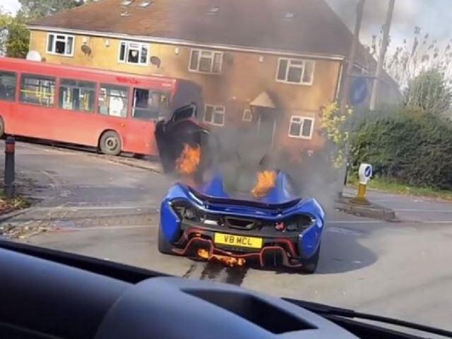 McLaren P1 Roasting